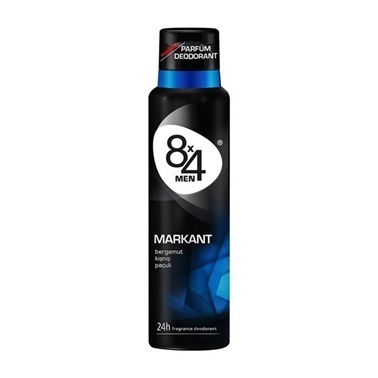 8x4 Men Markant Erkek Parfüm Deodorant 150ml Renksiz